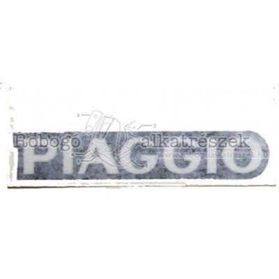 Piaggio- Name Plate :ar