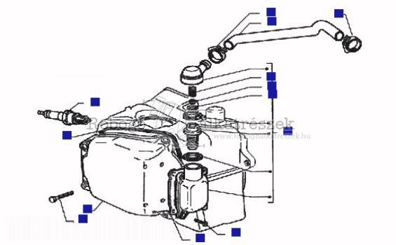 Piaggio Hexagon 125 GTX Ser 1 11