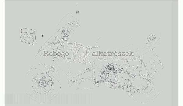 APRILIA LEONARDO 125 - 150 ST 2001-04 ZD4MBA5 Matrica szett