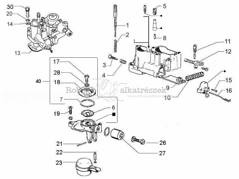 Vespa Carburetor Diagram - Wiring Diagram Post on