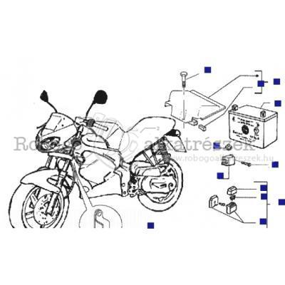 Akkumulátor - Távvezérlő kapcsoló