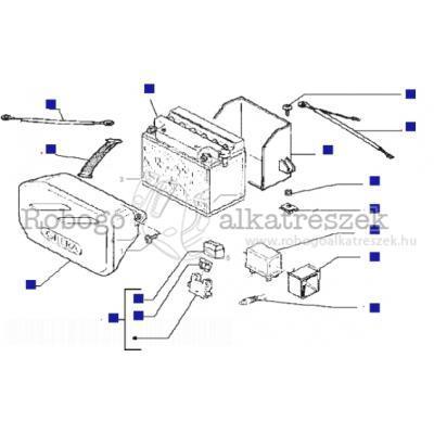Akkumulátor - Relé