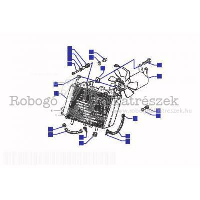 Hűtő radiátor