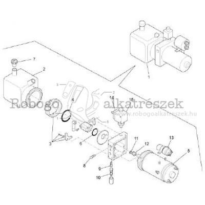 Tilting Pump - Components