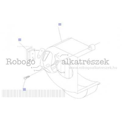 Lendkerék fedél - olajszűrő